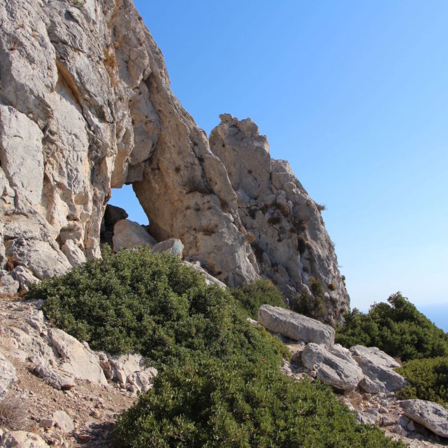 Aspri Petra Cave
