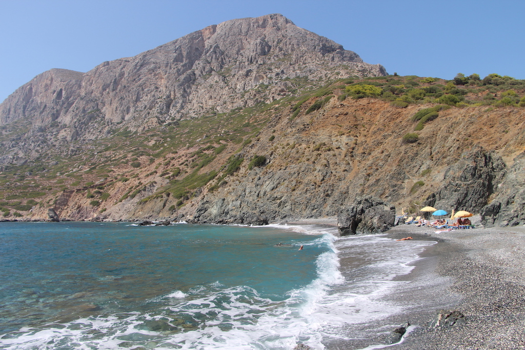 Hochlakas Beach in Telendos