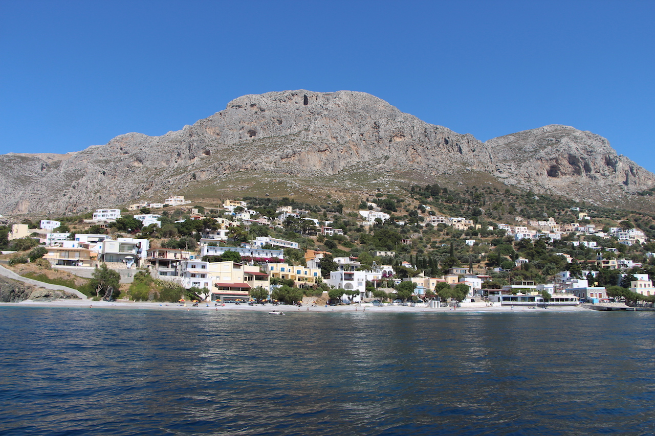 THe village of Myrties in Kalymnos
