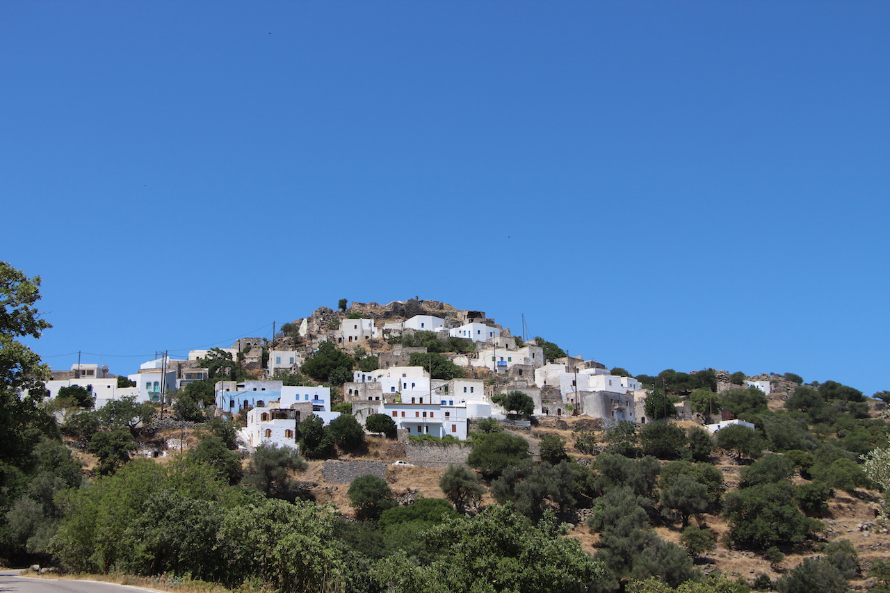 The village of Emporeio in Nisyros